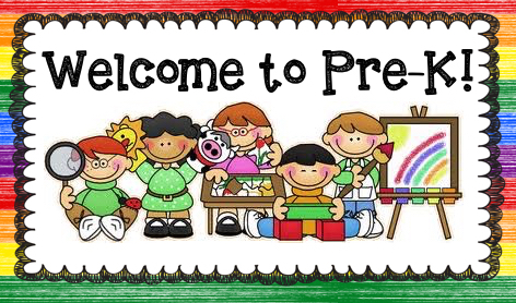 Welcome to Pre-K!