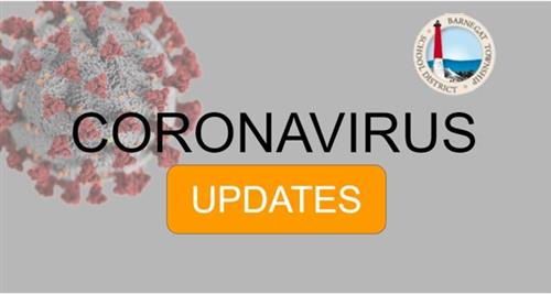 Barnegat logo with the words Coronavirus Updates