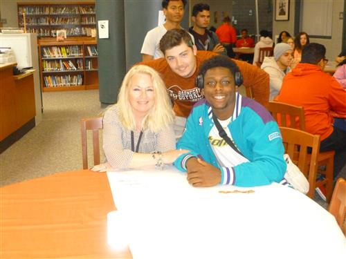 Mrs. Wrisley and her mentees